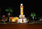 Night place in Izmir. — Stock Photo