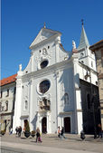 Church on the place in Kosice. — Stock Photo