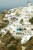 Architettura sull'isola di santorini. — Foto Stock
