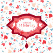 Royalty-Free Stock Immagine Vettoriale: Vintage Valentine Patterns