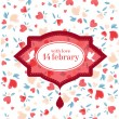 Royalty-Free Stock Imagen vectorial: Vintage Valentine Patterns