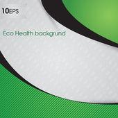 Eco Health Background — Stock Vector