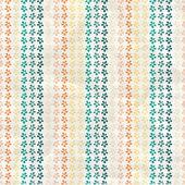 Ročník vzorek s květy, tropic — Stock vektor