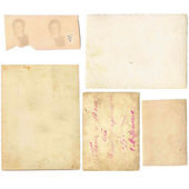 Staré papíry sada — Stock fotografie