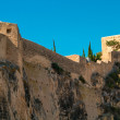 Castle - details, beach Alicante — Photo