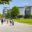 Goettingen, Goettingen State and University Library - 图库照片