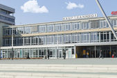 Kassel Hauptbahnhof (Kulturbahnhof) forecourt — Stock Photo