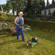 Lawn care - Stock Photo