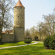 City Of Fritzlar, tower - 图库照片
