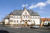 City Of Fritzlar, District court — Stock Photo