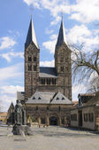 The City Of Fritzlar, Cathedra — Stock Photo