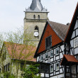 Church, City of Wolfhagen, Germany - Stock Photo