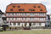 Old Town Hall, City of Wolfhagen, Germany — Stock Photo