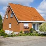 Small village house — Stock Photo