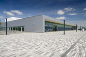 Luchthaven hoofdgebouw kassel, duitsland — Stockfoto