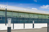 Facade Regional Airport Kassel, Germany — Stock Photo