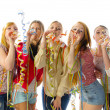Girlfriends party — Stock Photo
