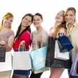 Girlfriends go shopping — Stock Photo #26891031