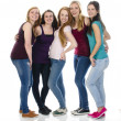 Group of Girlfriends — Stock Photo
