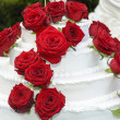weddding cake — Stock Photo