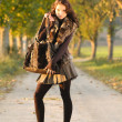 Autumn clothes — Stock Photo