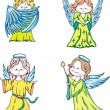 Kids angels — Stock Vector #12038990