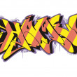 Vector de stock : Graffito - home