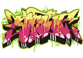 Graffito - sport — Stock Vector