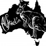 Постер, плакат: Kangaroo as Australian symbol