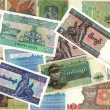 Background of Myanmar kyat money bills — Stock Photo