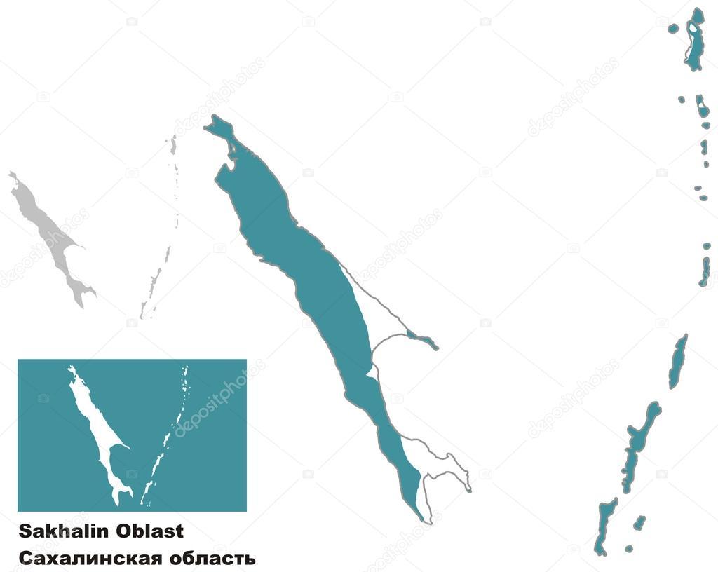 俄国的地区.矢量图— vector