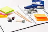 Office supplies — 图库照片