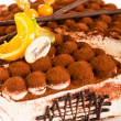 Tiramisu cake delicious dessert mascarpone - Stock Photo