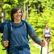 Portrait of hiker boy smiling at camera — Stock Photo