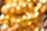 Glittering golden Christmas background — Stockfoto