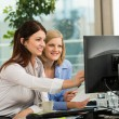 Businesswomen Looking At Computer Monitor — Stock Photo #44192661