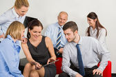Business Team With Digital Tablet — Stock Photo