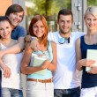 Group of students — Stock Photo #48611399