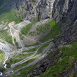 Mountain road in Norway — Stock Photo