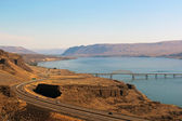 View of Columbia river — Stockfoto