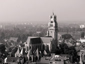 Aerial view of Brugge — Stock Photo