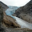Briksdal glacier — Stock Photo #12806826