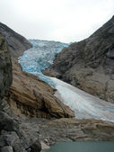 Briksdal glacier — Photo