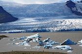 Glacier lagoon in Iceland — Stockfoto