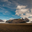 Foto Stock: Glacier in Iceland