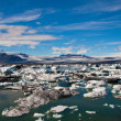 Glacier lagoon in Iceland — Stock Photo #19497079