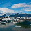 Glacier lagoon in Iceland — Stock Photo #19497093
