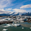 Stock Photo: Glacier lagoon in Iceland