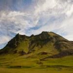 góry w Islandii — Zdjęcie stockowe