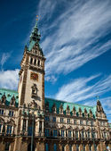 City hall of Hamburg — Stock Photo